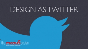 Design as twitter